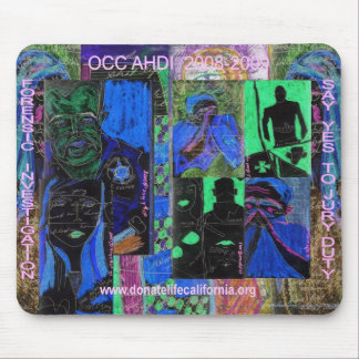 "OCC AHDI 'SAY YES TO JURY DUTY"" MOUSE PAD"