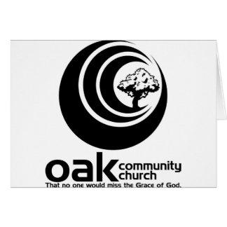 OCC Classic B/W Logo Card