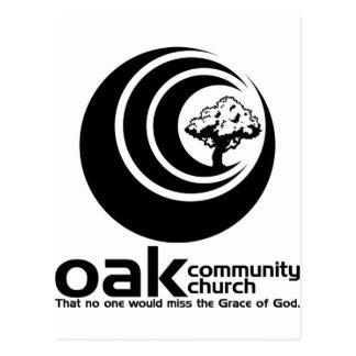 OCC Classic B/W Logo Postcard