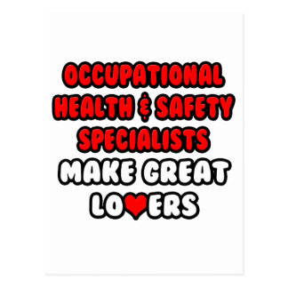 Occ Health Specialists Make Great Lovers Postcard