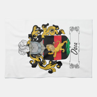 Occa Family Crest Hand Towels