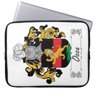 Occa Family Crest Laptop Sleeves