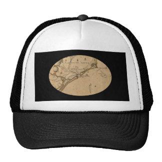 Occacoke Inlet Ship Map Trucker Hat