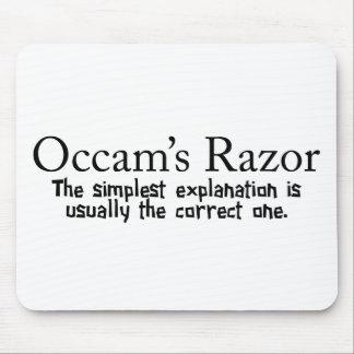 Occam's Razor Mouse Pad