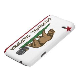 Occidental de la bandera de la república de Califo Carcasas De Galaxy S5