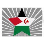 Occidental+Estrella de Sáhara Felicitación