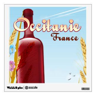 Occitanie France farming landscape poster Wall Sticker