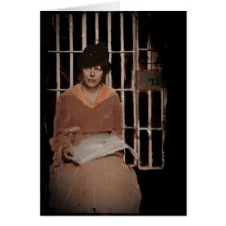 Occoquan Workhouse 1917 Greeting Card