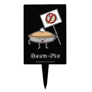 Occu-Pie (Cake Pick) Cake Topper