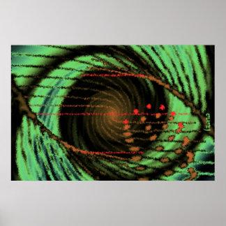 Occular Vortex by Izana Poster