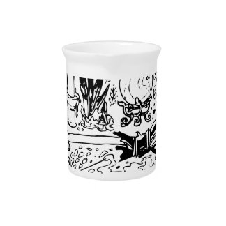 Occult and Magic Beverage Pitcher