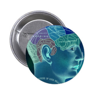 Occult Collection - Phrenology Pinback Buttons