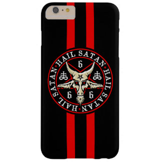 Occult Hail Satan Baphomet Goat in Pentagram Barely There iPhone 6 Plus Case