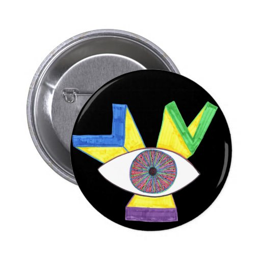 OCCULT PINBACK BUTTON