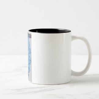 Occult pine cone. Kitchen decor-colorful,pinecone Two-Tone Coffee Mug