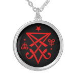 Occult Sigil of Lucifer Necklace / Pendant