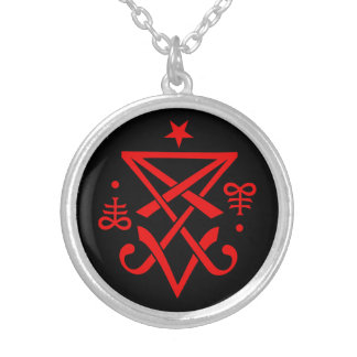 Occult Sigil of Lucifer Necklace Pendant