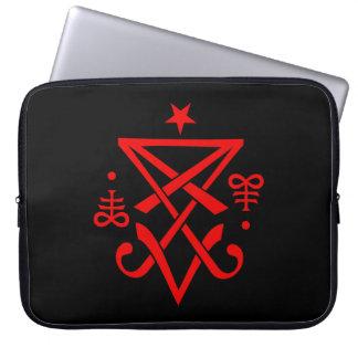 Occult Sigil of Lucifer Satanic Computer Sleeve