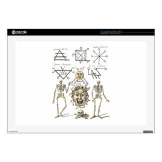 "Occult Symbols 17"" Laptop Decal"