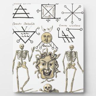 Occult Symbols Photo Plaques