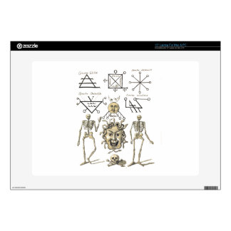 Occult Symbols Decal For Laptop