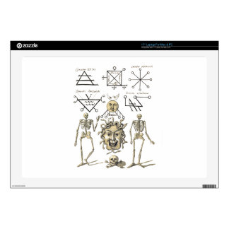 "Occult Symbols 17"" Laptop Decal"