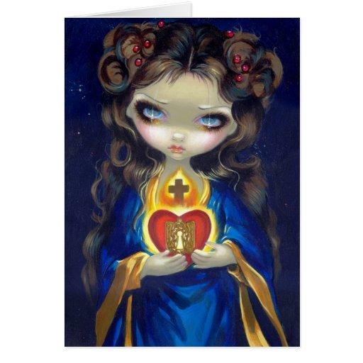 """""""Occulta Cordis"""" Greeting Card"""
