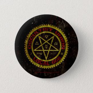 OCCULTIST UNION LOCAL 666    019 PINBACK BUTTON