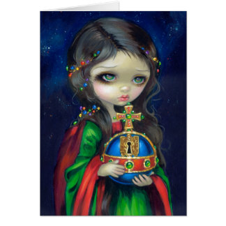 """Occulto Orbis"" Greeting Card"
