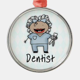 Occupation Dentist Professional Female Christmas Tree Ornaments