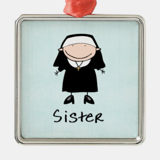 Occupation Nun Religious Vocation  Personalized Christmas Ornaments