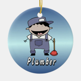 Occupation Plumber Custom Personalized Ornament