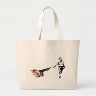 Occupational Hazzard Large Tote Bag
