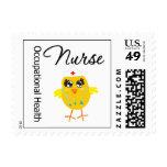 Occupational Health Nurse Chick Postage