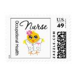 Occupational Health Nurse Chick (v2) Stamps