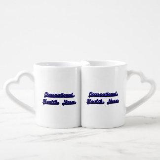 Occupational Health Nurse Classic Job Design Couples' Coffee Mug Set