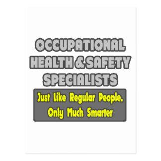 Occupational Health Specialists .. Smarter Postcard