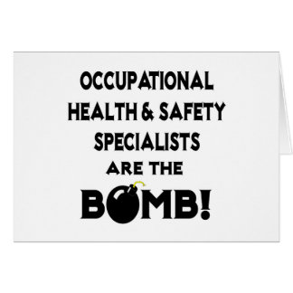 Occupational HS Specialists Are The Bomb! Card