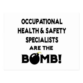 Occupational HS Specialists Are The Bomb! Postcard