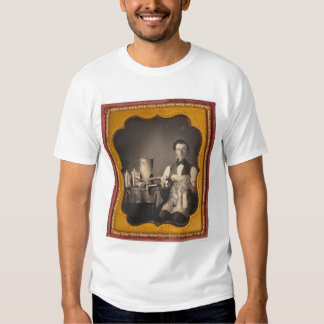Occupational portrait of a tinsmith... (40027) t shirt