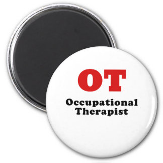 Occupational Therapist 2 Inch Round Magnet