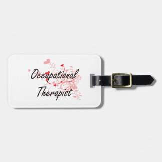 Occupational Therapist Artistic Job Design with He Luggage Tag