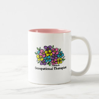 Occupational Therapist Blooms 1 Two-Tone Coffee Mug