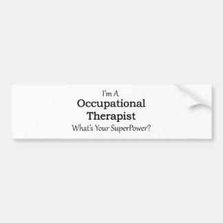 Occupational Therapist Bumper Sticker