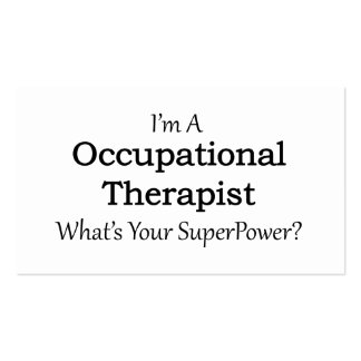 Occupational Therapist Business Card
