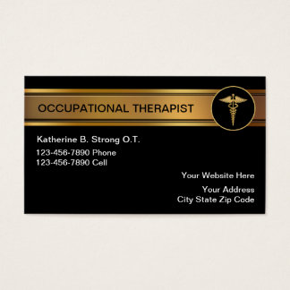 Occupational Therapist Business Cards