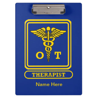 Occupational Therapist Clipboard
