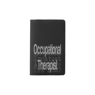 Occupational Therapist Extraordinaire Pocket Moleskine Notebook