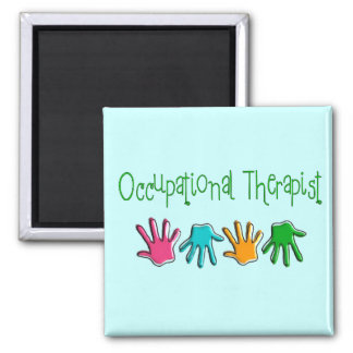 Occupational Therapist Gifts 2 Inch Square Magnet