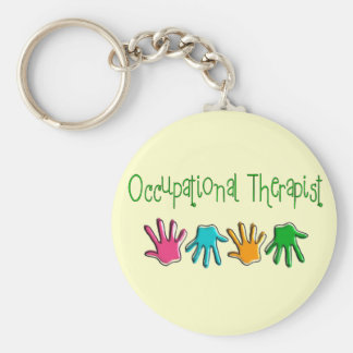 Occupational Therapist Gifts Basic Round Button Keychain